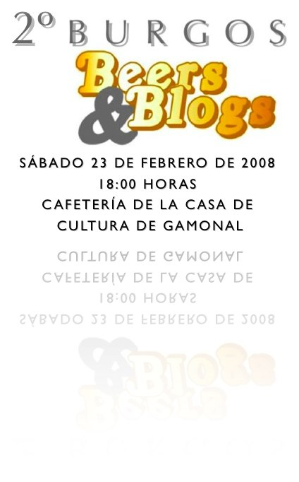 2º Burgos, Beers and Blogs