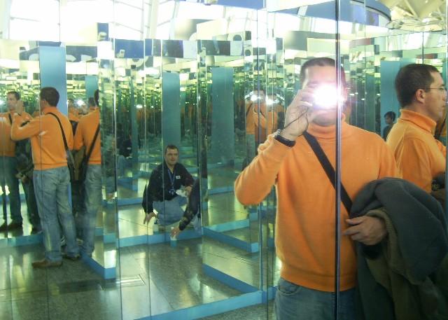 Entre espejos