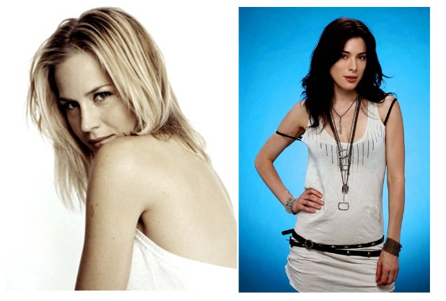 Julie Benz y Jaime Murray