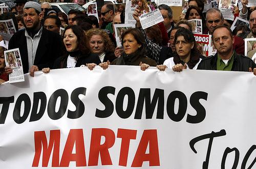 """""""Todos somos Marta"""""""