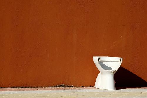 Broken WC