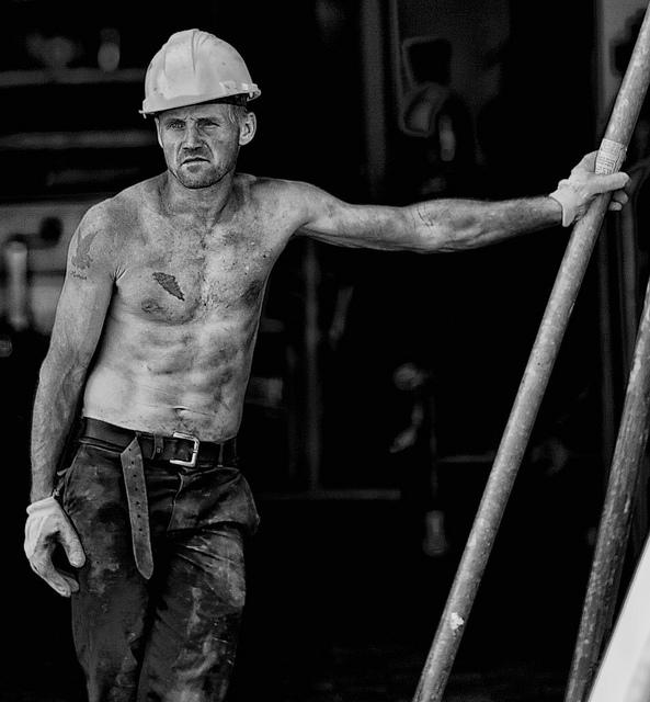 Construction worker, por Fouquier