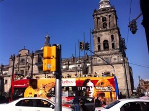 México DF Zócalo